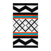 geo-stripe-beach-towel
