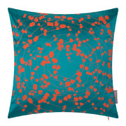 spiral-pillow-45x45cm-kingfisher-tiger-lily
