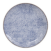 kiku-blue-plate-medium