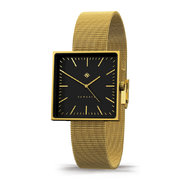 cubeline-watch-mesh-strap-brushed-brass
