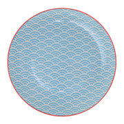 starwave-dessert-plate-small-wave-aqua-red