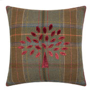 mulberry-tree-plaid-cushion-red