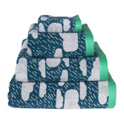 rainy-day-towel-green-hand-towel