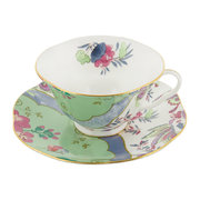 tasse-a-the-et-soucoupe-butterfly-bloom-vert