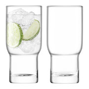 utility-blown-highball-glass-set-of-2-clear