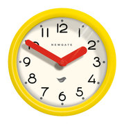 the-pantry-wall-clock-citrus-yellow