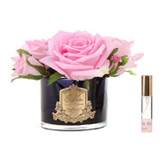 roses-in-black-glass-with-giftbox-pink
