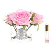 roses-in-white-glass-with-giftbox-pink
