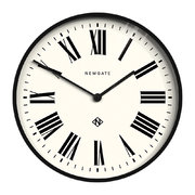 number-one-italian-wall-clock-black