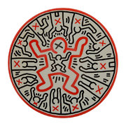 keith-haring-child-plate