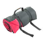 rug-roll-fleece-picnic-blanket-bright-pink-black
