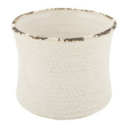 weave-ceramic-flower-pot-ivory