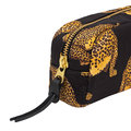 Wouf - Black Leopard Cosmetic Bag - Small