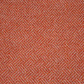 Bronte by Moon - Parquet Merino Lambswool Throw - Coral