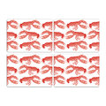 Thornback & Peel - Lobster Placemat - Set of 4