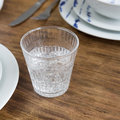 Luxe - Barroc Glass Tumblers - Set of 6 - Clear