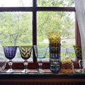 Pols Potten - Mixed Cuttings Wine Glasses - Set of 6 - Multicolor