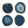 Luxe - Agate Coasters - Set of 4