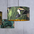 MINDTHEGAP - Birds of Paradise Drum Ceiling Light - Large