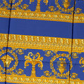 Versace Home - Barocco&Robe Reversible Bedspread - Black/Gold/Blue