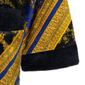 Versace Home - I Love Baroque Bademantel - Schwarz/Blau/Gold