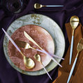Cutipol - Mio Table Spoon - Pink Gold