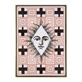 Christian Lacroix - A5 Layflat Notebook - Poker Face