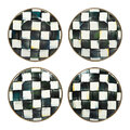 MacKenzie-Childs - Courtly Check Canape Plate - Set of 4