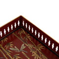 Les Ottomans - Hand Painted Chinoserie Tray - Rectangular