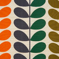 Orla Kiely - Duo Stem Cushion - Multi - 50x50cm