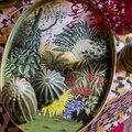 Les Ottomans - Hand-Painted Iron Tray - Garden