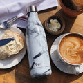 S'well - The Element Bottle - White Marble - 0.75L