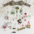 MacKenzie-Childs - 12 Days Tree Decoration - 6 Geese A-Laying