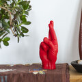 Candle Hands - 'Fingers Crossed' Candle - Red