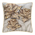 Roberto Cavalli - Zebra Rose Silk Cushion - 40x40cm