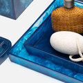 Pigeon and Poodle - Abiko Nested Tray - Set of 2 - Cobalt