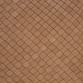 Luxe - Leather Weave Cushion - 30x50cm - Tan