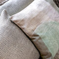 Retreat - Abstract Smudge Cushion - 45x45cm