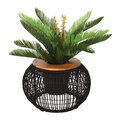 AMARA Outdoors - Outdoor Rope Weave Table - Black