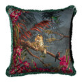 Ted Baker - Hibiscus Cushion - Charcoal