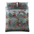 Ted Baker - Hibiscus Quilt Cover - Charcoal - Double