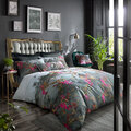 Ted Baker - Hibiscus Quilt Cover - Charcoal