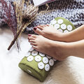 Bed of Nails - Acupressure Pillow - Botanic Green