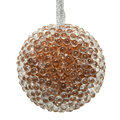 AMARA Christmas - All Over Beaded Bauble - Set of 12 - Pink