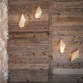 CTO Lighting - Abstract Leaf Wall Light - Brass