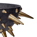 L'Objet - Celestial Bowl on Stand - Black & Gold - Small