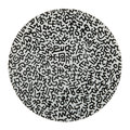 Ligne Blanche - Keith Haring 'Black Pattern' Plate