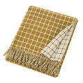 Bronte by Moon - Athens Merino Lambswool Throw - Gold