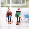 Kay Bojesen - Boje The Boy Skier Wooden Toy