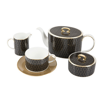 Arris Accent Tea Set